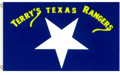 Texas Rangers Terry's Texas Rangers Banner Flag 3x5ft