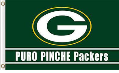 Green Bay Packers Puro Pinche Flag 3X5Ft