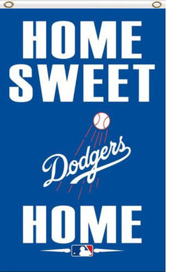 Los Angeles Dodgers Home Sweet Banner flag 3ftx5ft