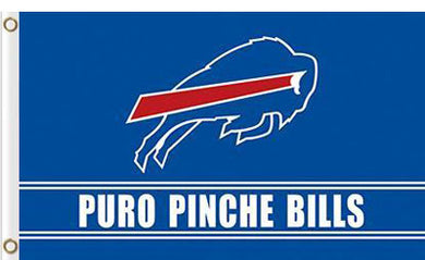 3ftx5ft Buffalo Bills Puro Pinche Flag