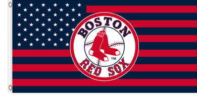 Boston Red Sox American Team Colors Banner flags 3x5ft
