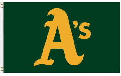 Oakland Athletics Logo Banner flag 3ftx5ft