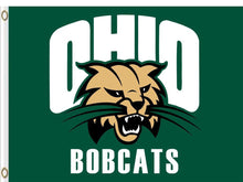 Load image into Gallery viewer, Ohio Bobcats Digital Printing 3x5FT