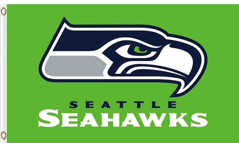 Seattle Seahawks Flags 3ftx5ft