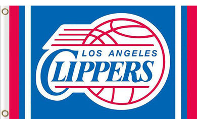 Los Angeles Clippers custom flag 3ftx5ft