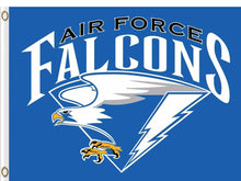 Load image into Gallery viewer, Air Force Falcons Logo Flag 3ftx5ft