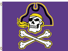 Load image into Gallery viewer, East Carolina Pirates Flag 3*5ft Club Basketball