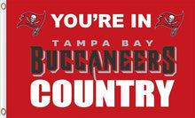 Load image into Gallery viewer, Tampa Bay Buccaneers Country Flags 3ftx5ft
