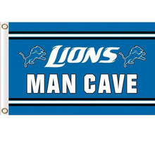 Load image into Gallery viewer, Detroit Lions MAN CAVE Outdoor flag 90x150cm