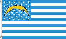Load image into Gallery viewer, San Diego Chargers Team Logo Sports 3ft x 5ft