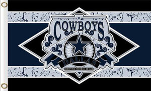 Dallas Cowboys fans flag 90x150cm 2 Metal Grommets