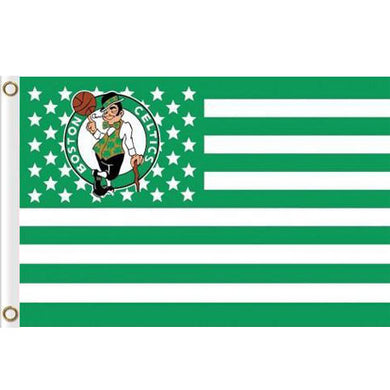 Boston Celtics Basketball Sport Flags 3ftx5ft