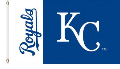 Kansas City Royals Logo Banner flags 3ftx5ft