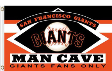 San Francisco Giants Man Cave Banner flags 90x150cm
