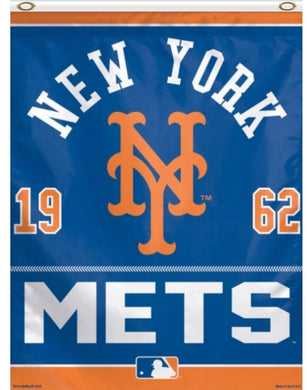 New York Mets 1962 Banner flag 3ftx5ft
