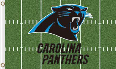 Carolina Panthers Green Flag  3ftx5ft