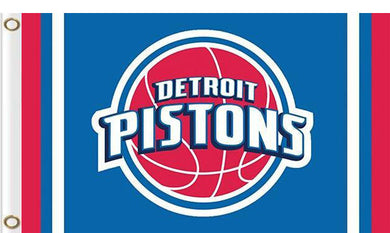Detroit Pistons custom flag 3ftx5ft