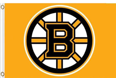 Boston Bruins Flag 3x5 FT Banner 100D Polyester