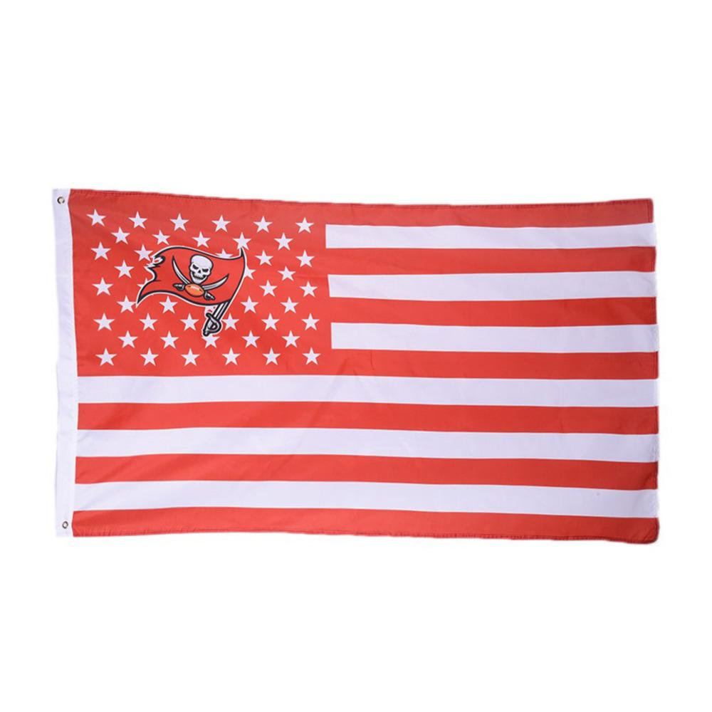 Tampa Bay Buccaneers USA Flags 3ftx5ft