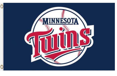 Minnesota Twins Logo baseball Banner flag 3ftx5ft