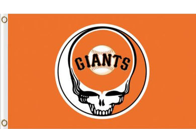 San Francisco Giants Dead Skull Banner flags 90x150cm