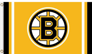 Boston Bruins custom flag 3ftx5ft