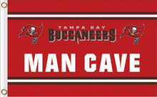 Load image into Gallery viewer, Tampa Bay Buccaneers  Flags 3ftx5ft