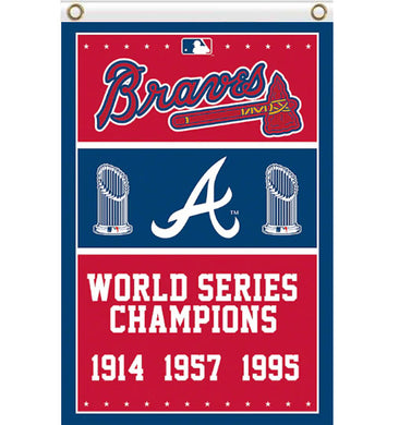 Atlanta Braves champions flag 90x150cm
