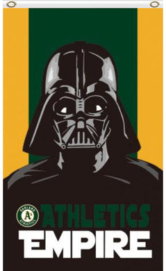 Oakland Athletics Star Wars Darth Vader Banner flag 3ftx5ft