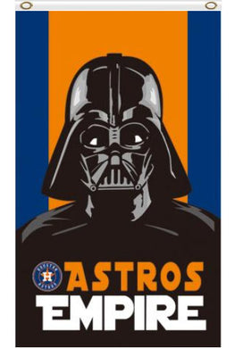 Houston Astros Wars Darth Vader Empire flags 3ftx5ft