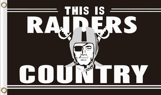 Oakland Raiders National Football Sport Club 3x5FT