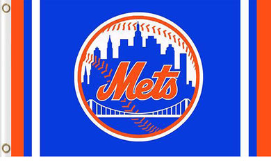 New York Mets custom flag 3ftx5ft