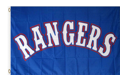 Texas Rangers Sport Banner Flag 3x5ft