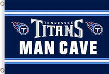 Load image into Gallery viewer, Tennessee Titans Cave Flags 3ftx5ft