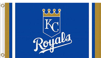 Kansas City Royals custom flag 3ftx5ft