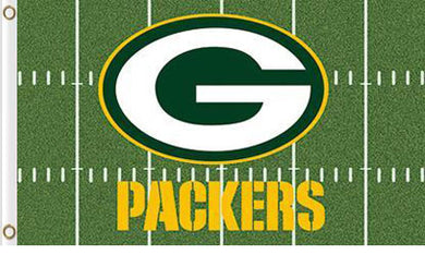 Green Bay Packers Green Flag 3X5Ft