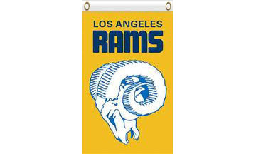 Los Angeles Rams Stripe Flag 3ftx5ft