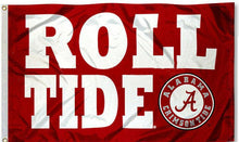 Load image into Gallery viewer, Alabama Crimson Roll Tide Flag 3x5FT