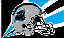 Load image into Gallery viewer, Carolina Panthers Team Logo Flag 3ftx5ft