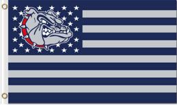 Gonzaga Bulldogs Stars and Stripes us Flag 3*5ft