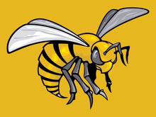 Load image into Gallery viewer, Alabama State Hornets Logo Hand Flag 90*150 CM