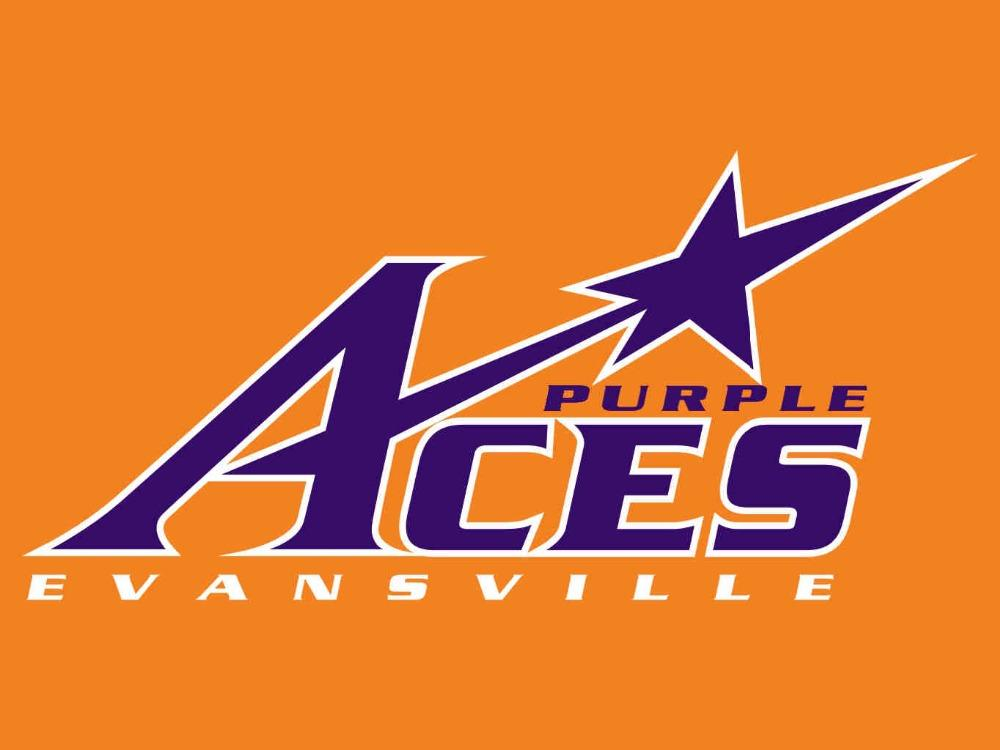 Evansville Purple Aces Flag 3*5ft Club