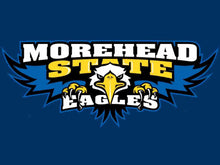Load image into Gallery viewer, Morehead State Eagles Logo Hand Flag 90*150 CM