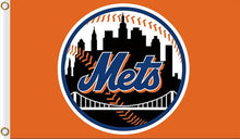 Load image into Gallery viewer, New York Mets Flag Baseball 3x 5FT Flag