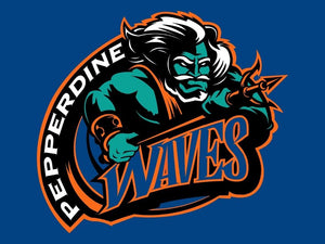 Pepperdine Waves sports team flag 90*150 CM