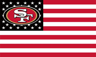 San Francisco 49ers Team Logo Flags 90x150cm