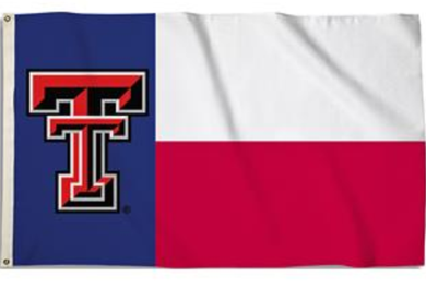 Texas Tech Red Raiders University Sport Flag 3ft*5ft