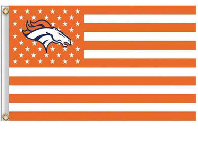 Denver Broncos Star Nation Banner Flag 3x5ft
