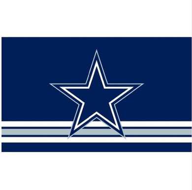 Dallas Cowboys Three Lines flags 3ftx5ft