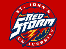 Load image into Gallery viewer, St. John's Red Storm sports team flag Digital Printing